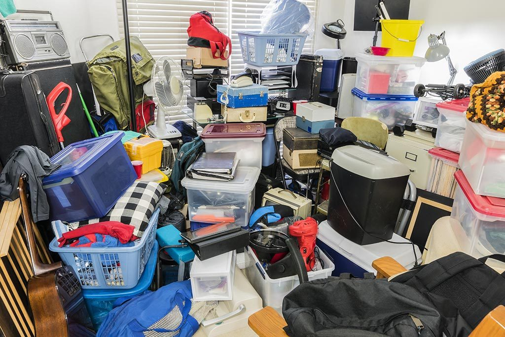 Hoarder Cleaning Rubbish Removal